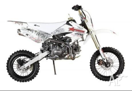 Atomik nitrous 125cc pitbike for Sale in BARRON