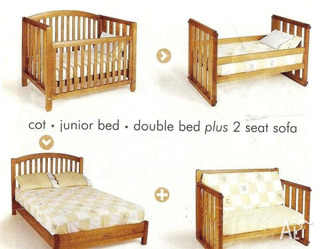 boori country collection madison 3 in 1 cot bed sofa ralph lauren table 4 combination for sale merrylands new south wales