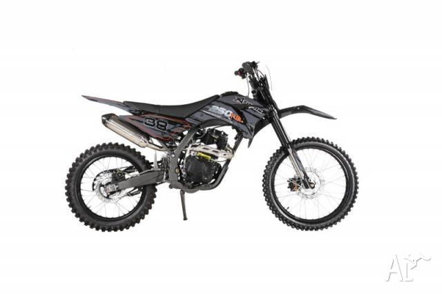Dirt Bike 250cc Fury250M Black By Atomik for Sale in