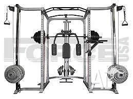 Force USA Power Rack Cable Crossover, Lat Pulldown RRP