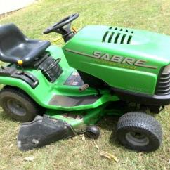 John Deere Sabre 1438gs Wiring Diagram Razor E200 Parts Lawn Tractor Ride On Mower 1538hs For Sale In