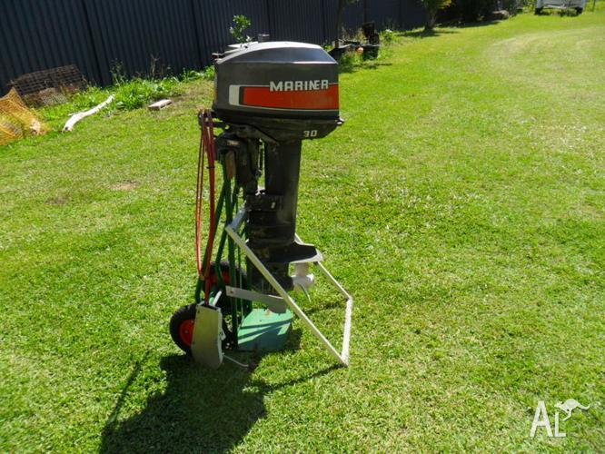 Mariner 30HP Engine & Control Arms for Sale in CASUARINA. New South Wales Classified   AustraliaListed.com
