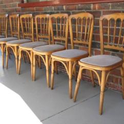 Vintage Bentwood Chairs Fleur De Lis Wood Rocking Chair 50 Each For Sale In Broadway Nedlands