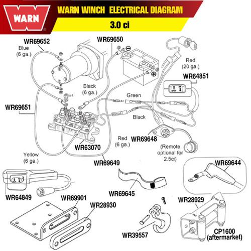Warn Winch Hawse Fairlead Mounting Plate