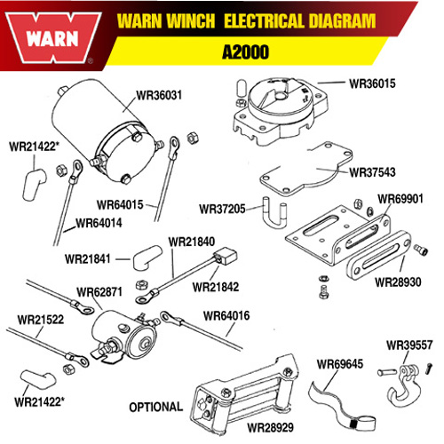 12000 Badland Winch Replacement Parts  Circuit Diagram Maker