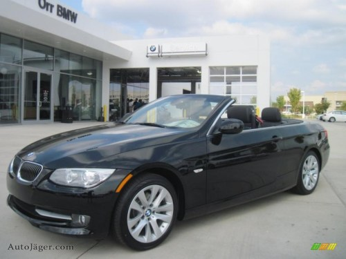 small resolution of jet black black bmw 3 series 328i convertible