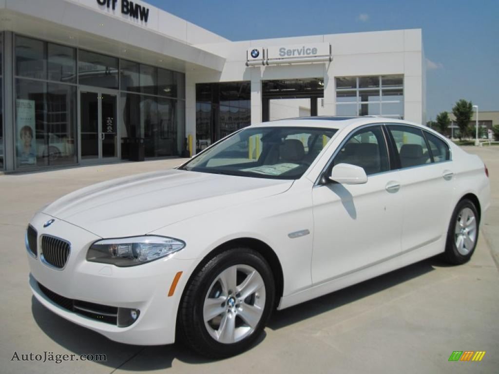 hight resolution of alpine white oyster black bmw 5 series 528i sedan