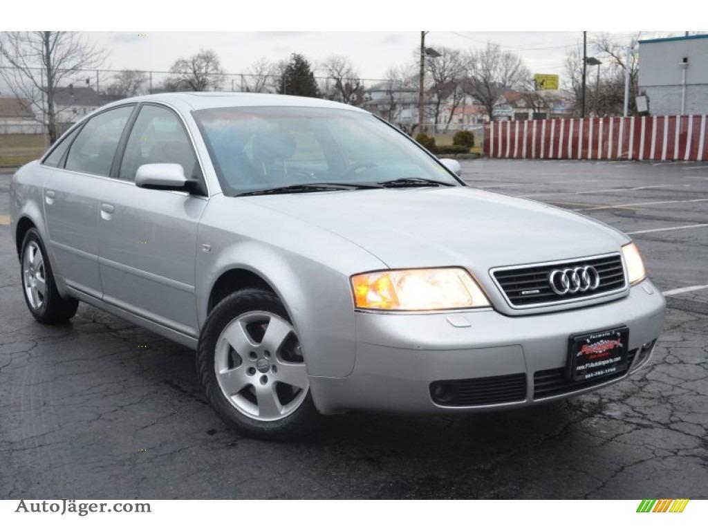 hight resolution of light silver metallic tungsten grey audi a6 2 7t quattro sedan