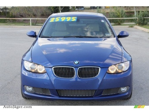 small resolution of montego blue metallic cream beige bmw 3 series 335xi coupe