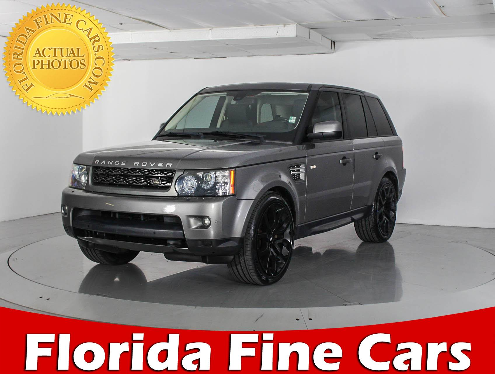 Used 2011 LAND ROVER RANGE ROVER SPORT HSE SUV for sale in WEST
