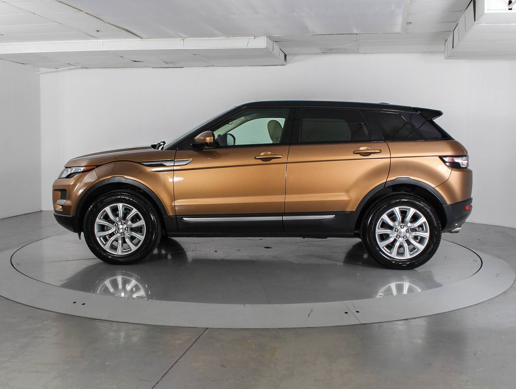 Used 2014 LAND ROVER RANGE ROVER EVOQUE PURE SUV for sale in WEST