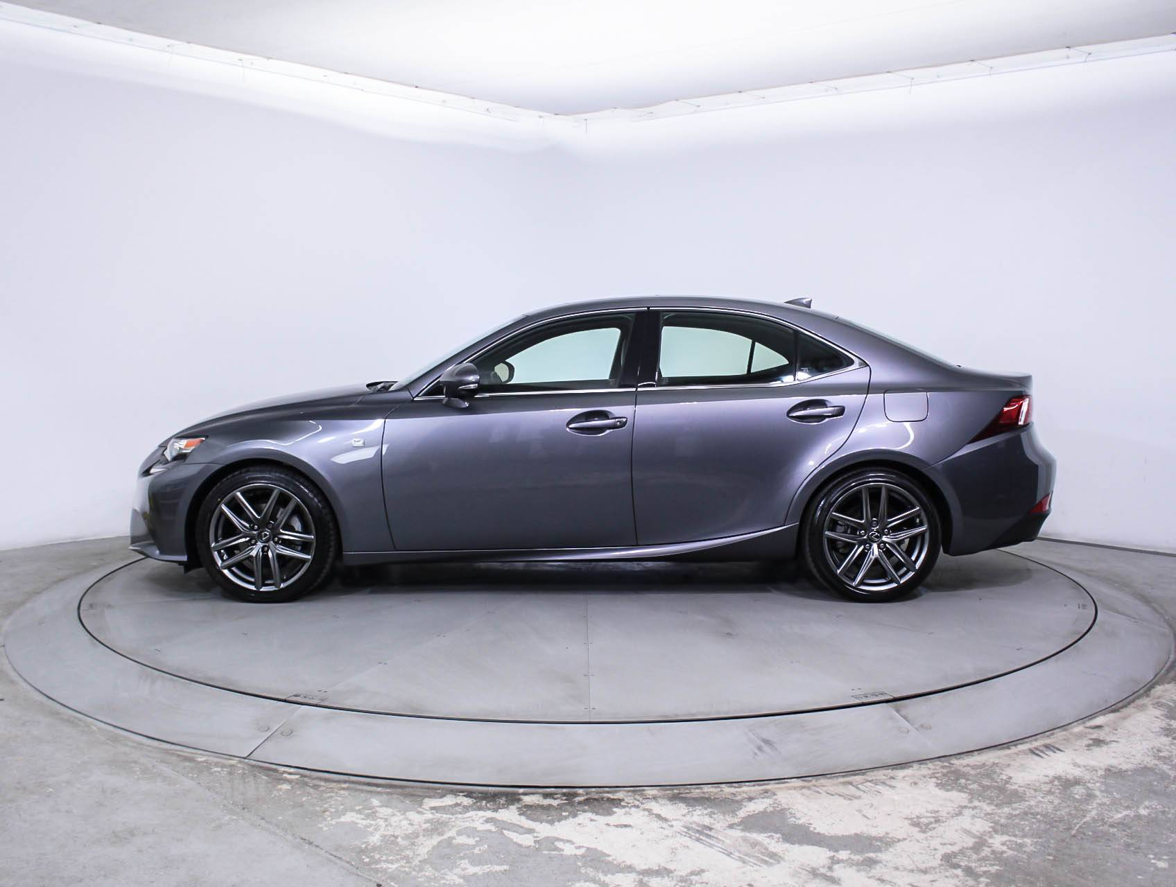 Used 2015 LEXUS IS 250 F Sport Sedan for sale in MIAMI FL