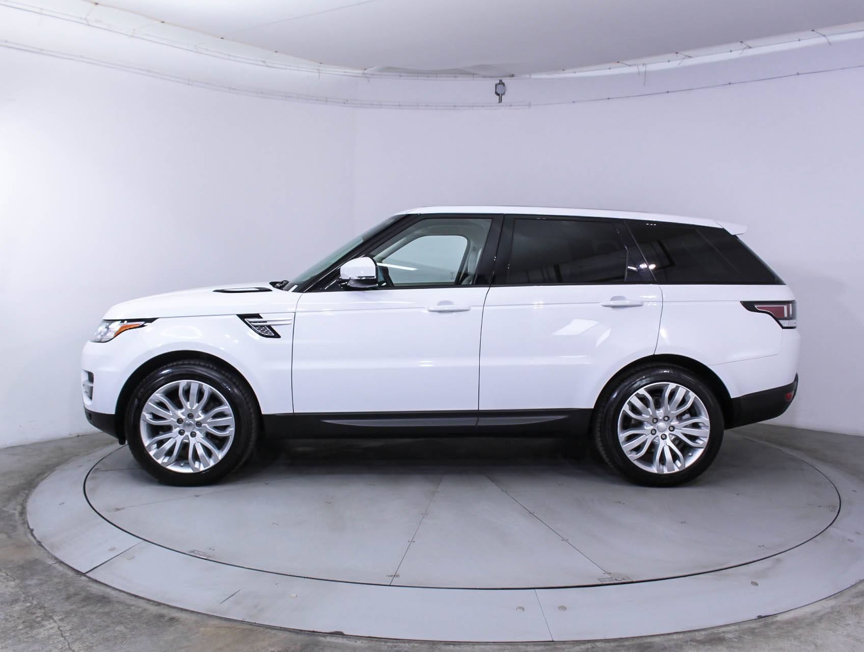 Used 2014 LAND ROVER RANGE ROVER SPORT SUPERCHARGED SUV for sale