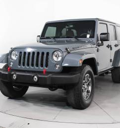 used 2015 jeep wrangler unlimited rubicon suv for sale in west palm fl 90852 florida fine cars [ 1696 x 1280 Pixel ]