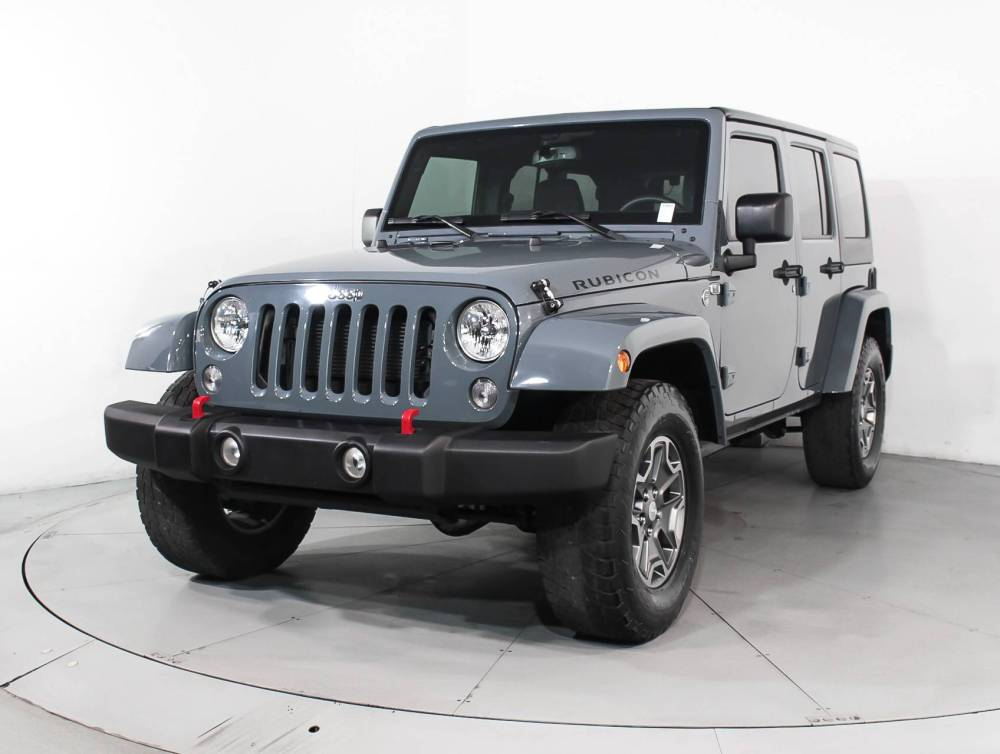 medium resolution of used 2015 jeep wrangler unlimited rubicon suv for sale in west palm fl 90852 florida fine cars