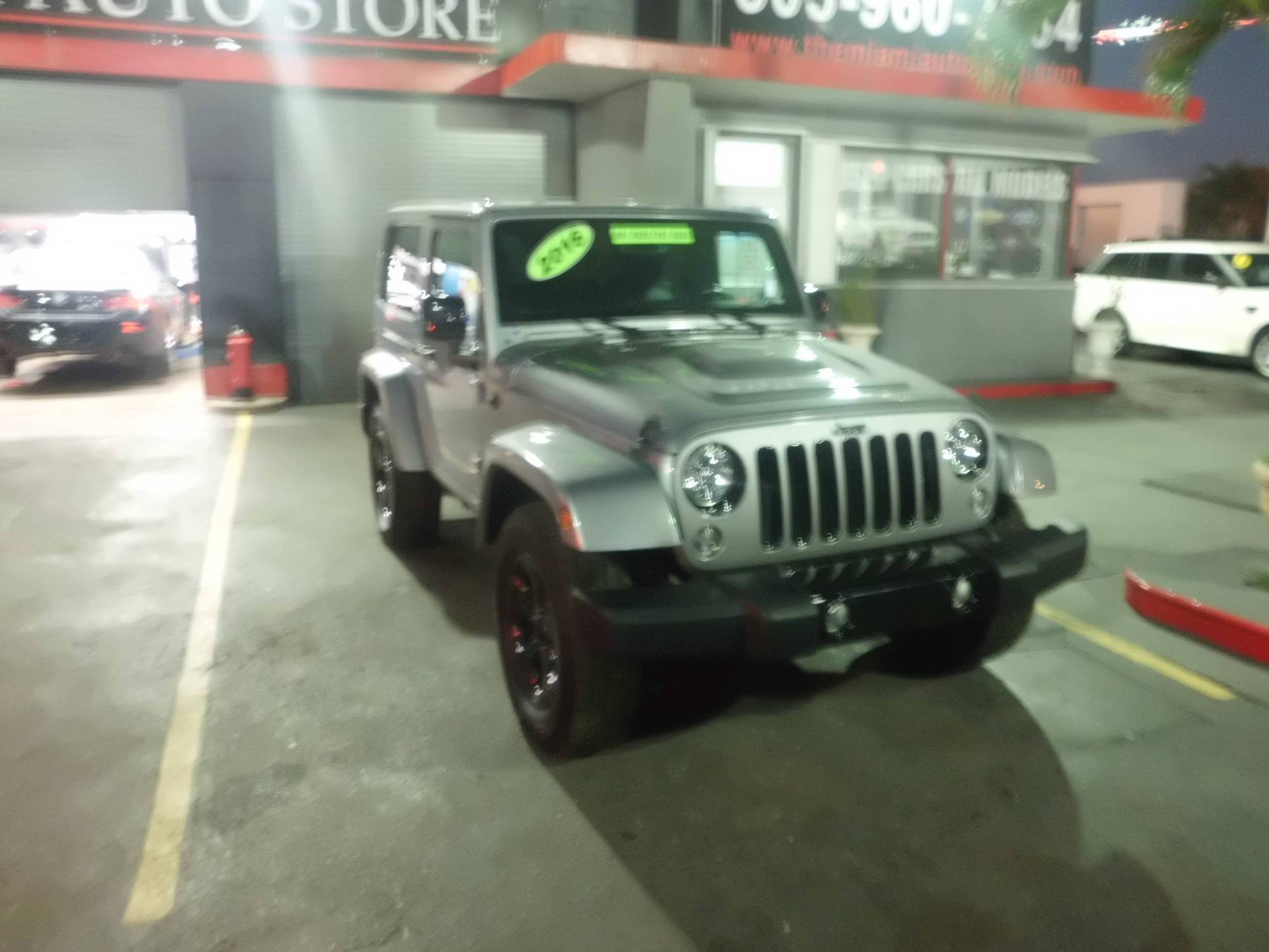 hight resolution of used 2015 jeep wrangler sahara for sale in miami 11124 miami auto store corp