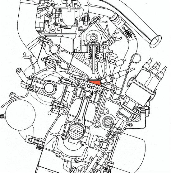 Tecnica: camera di combustione, ecco come la geometria