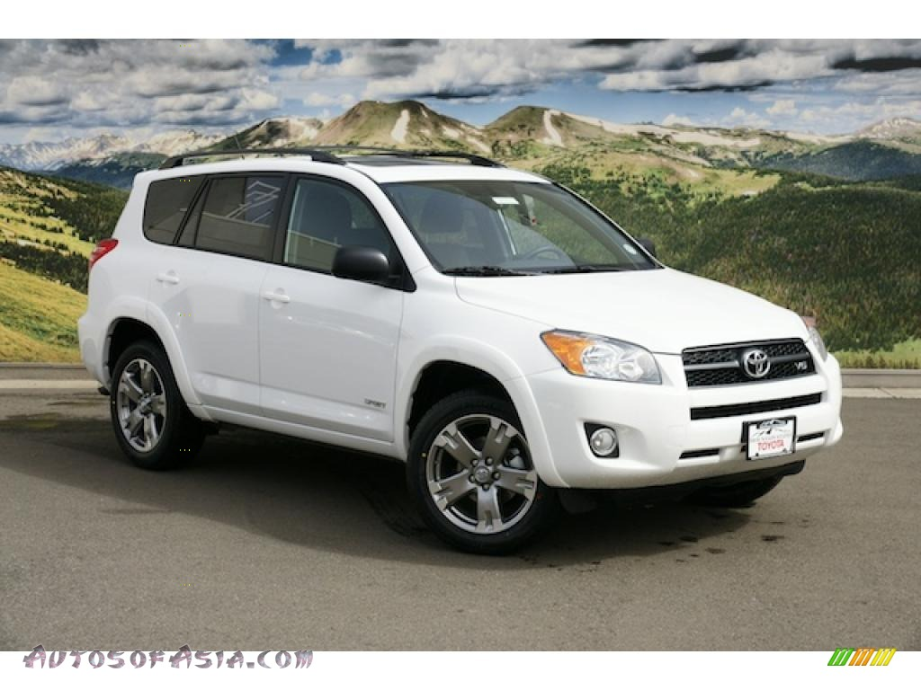 2011 Toyota RAV4 V6 Sport 4WD in Super White - 050217   Autos of Asia - Japanese and Korean Cars for sale in the US