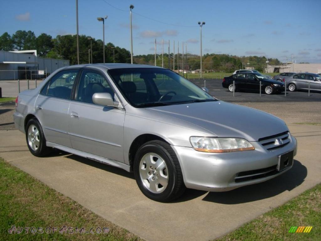 hight resolution of 2002 accord ex v6 sedan satin silver metallic quartz gray photo 1