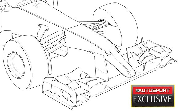2014 Caterham drawing (via Manoah2u @ F1Technical) : formula1