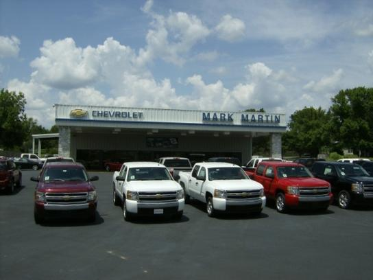 Mark Martin Chevrolet Car Dealership In Melbourne, Ar