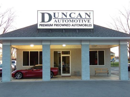 Duncan Automotive  Knoxville, Tn 379221912 Car