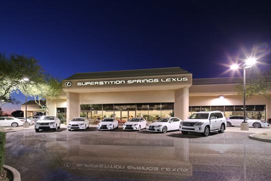 Superstition Springs Lexus Car Dealership In Mesa, Az