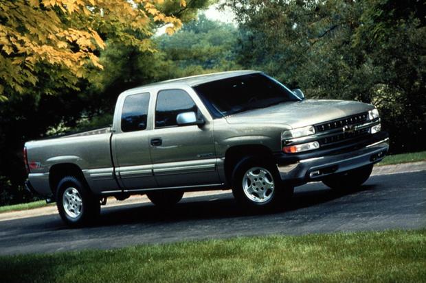 2001 Chevrolet Silverado 1500 Service Manual