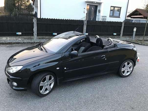 Verkauft Peugeot 206 CC 206 Cabrio / R., gebraucht 2003