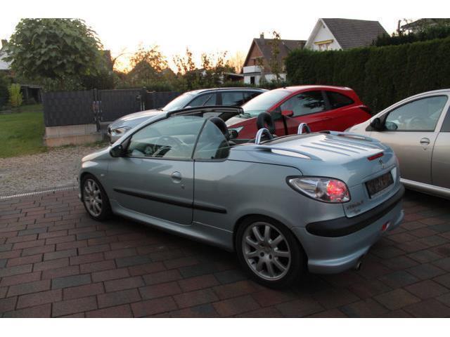 Verkauft Peugeot 206 CC 2,0 16V Cabrio., gebraucht 2002