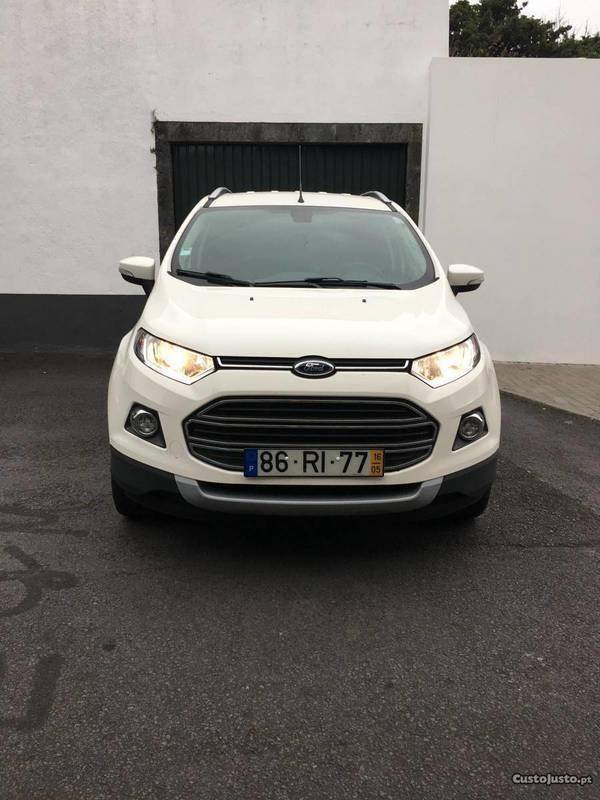 Usados 2016 Ford Ecosport 1.0 Benzin 125 cv (€ 13.399)   AutoUncle