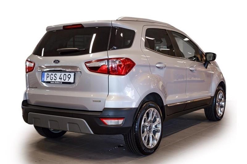 Såld Ford Ecosport 1.0 125 Titanium. begagnad 2019. 1 100 mil i Vimmerby