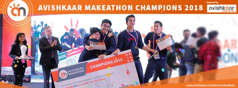 Avishkaar Makeathon 2018 Champions