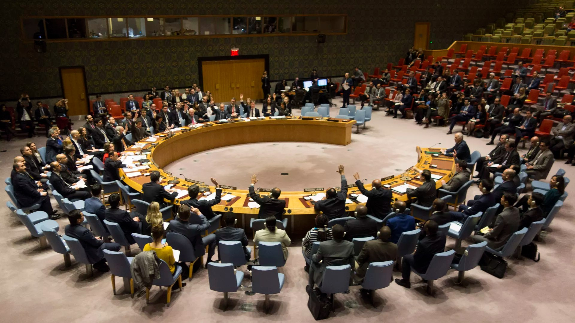 U N Security Council Expected To Meet About Syria