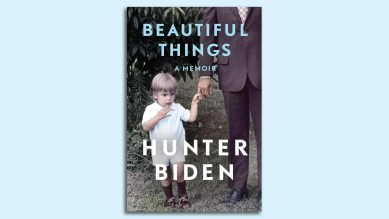 "The cover of Hunter Biden's book, ""Beautiful things"""
