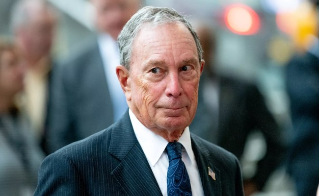 Michael Bloomberg Set To Enter Democratic Presidential