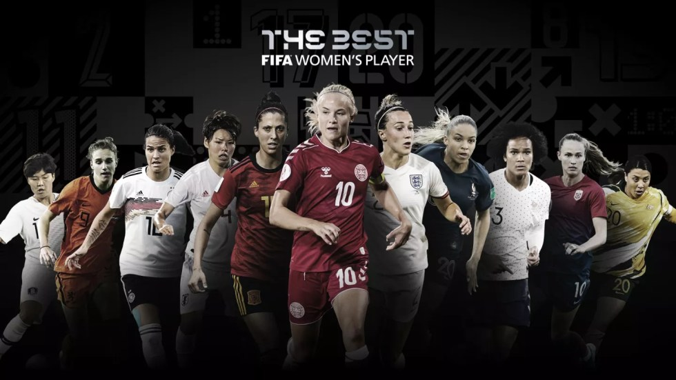 fifa best women's players nominees