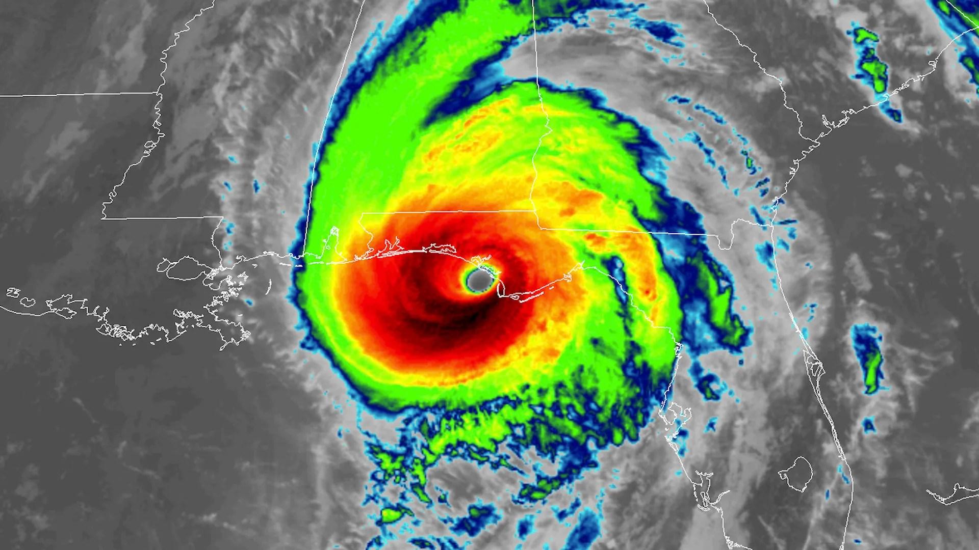 hurricane michael is now
