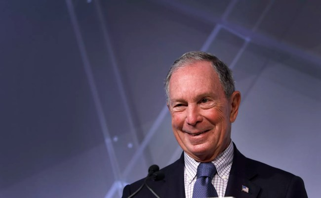 Michael Bloomberg Says He Would Self Fund 2020