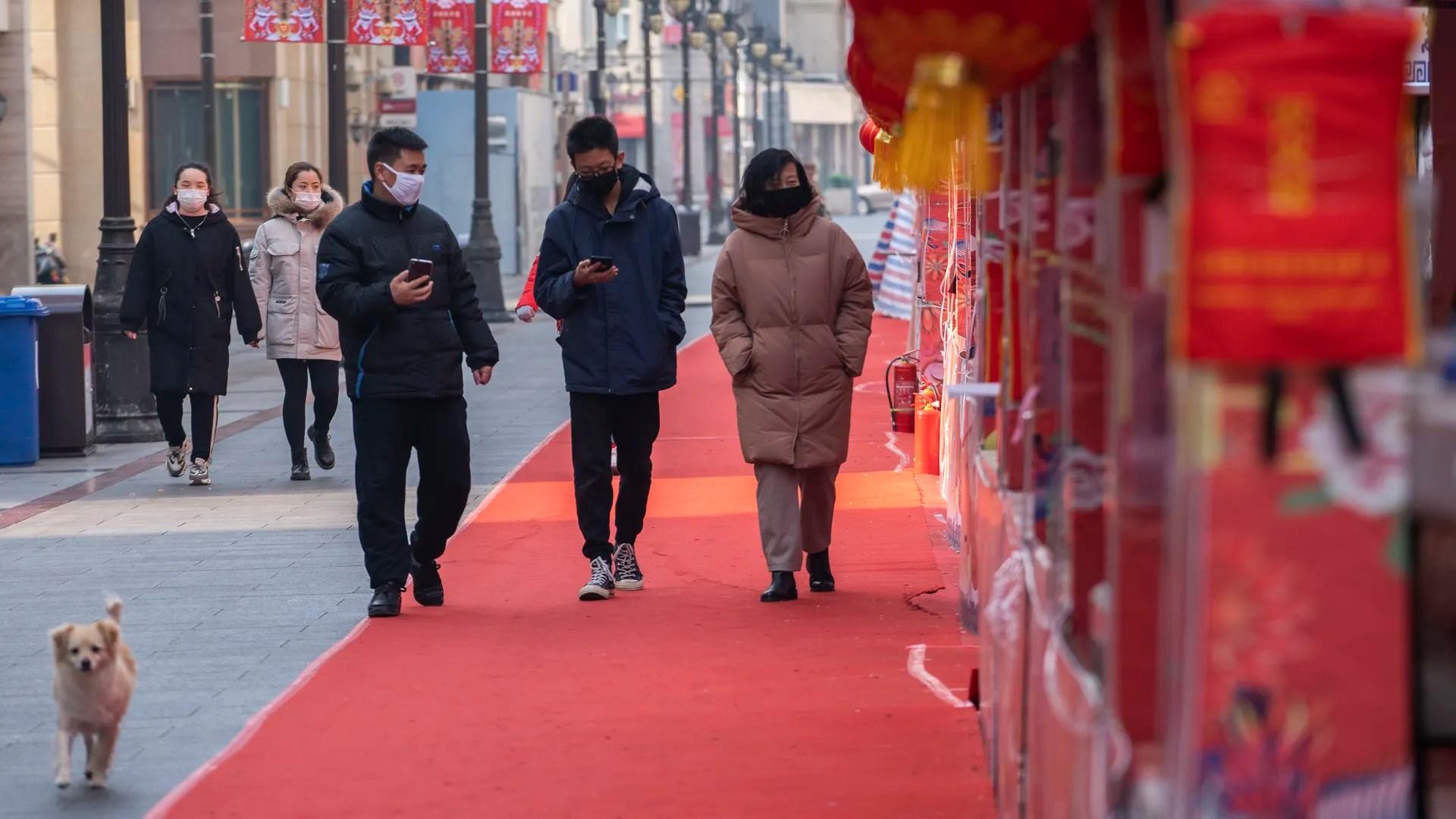 Coronavirus: China confirms cases in all regions - Axios