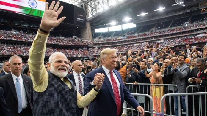 Trump at Texas Howdy Modi rally — in photos - Axios