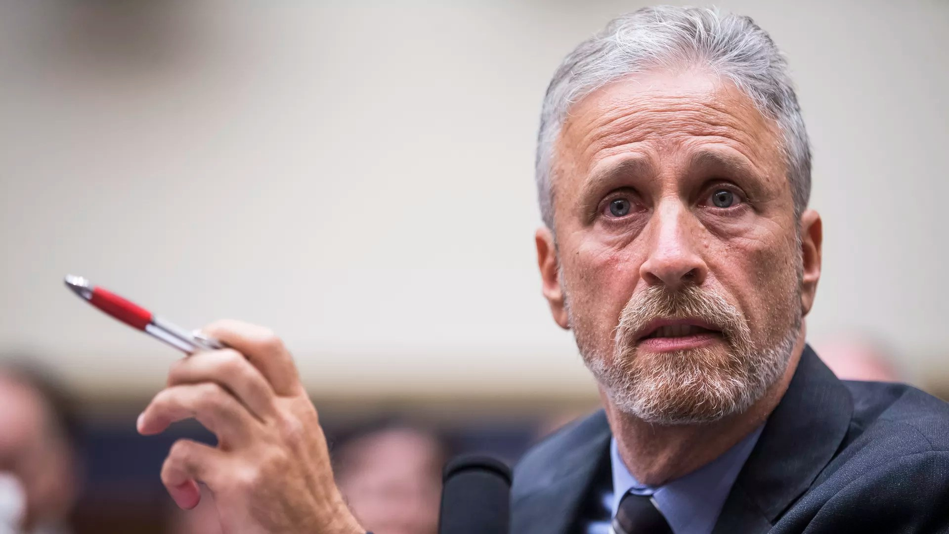 Former Daily Show Host Jon Stewart Testifies During A House Judiciary Committee