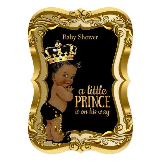 pic Black Baby Prince Image african american prince baby shower