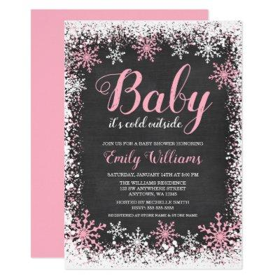 S Christmas Baby Shower Invitations