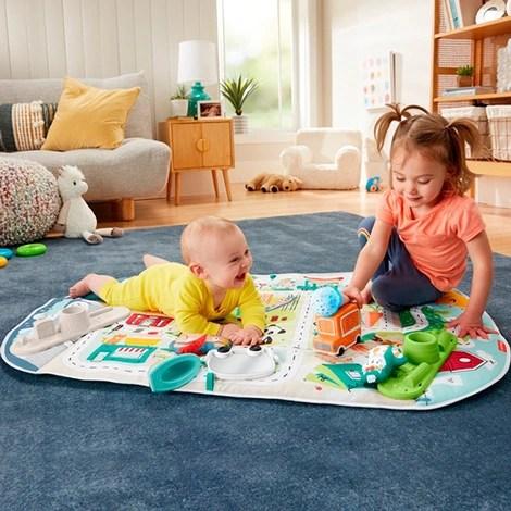 tapis d eveil avec arceau mon tapis d eveil decouverte evolutif