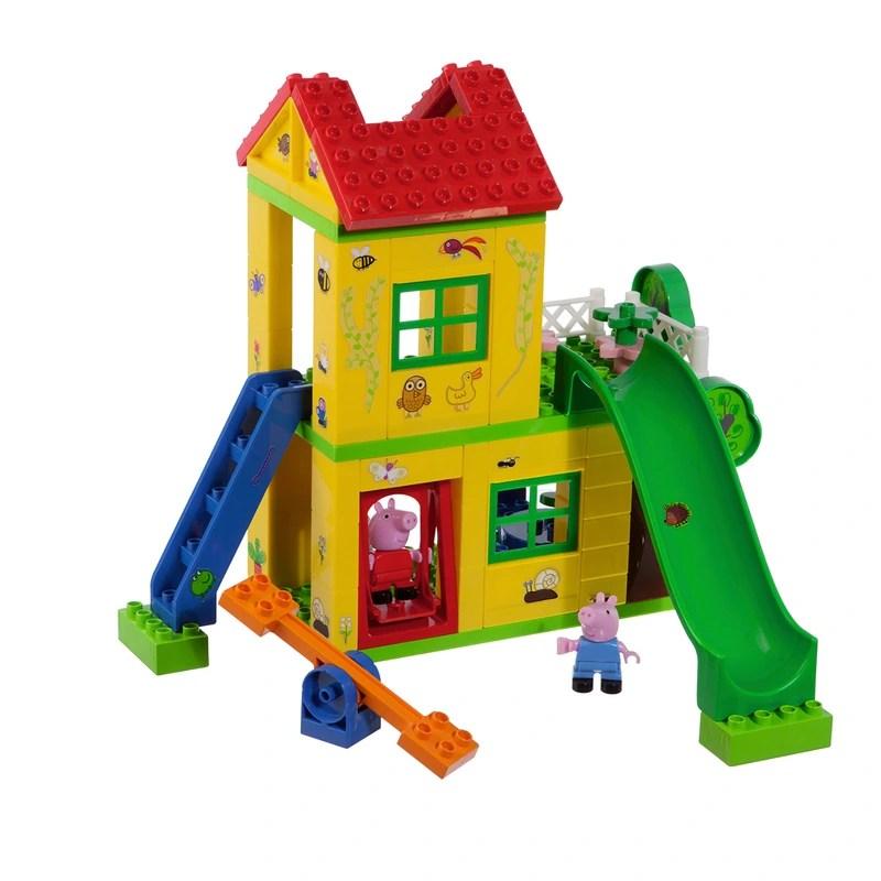 bloxx briques de construction peppa pig la maison de jeu