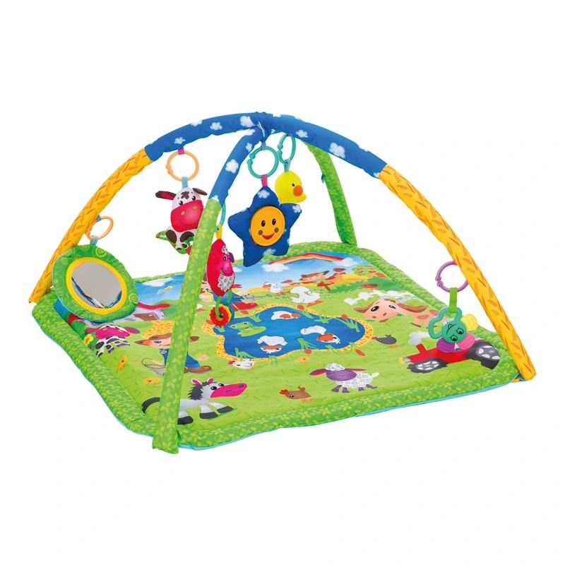 arche de jeu avec tapis d eveil ferme