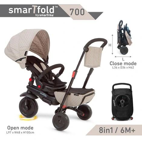 smarTrike Dreirad smarTfold 700 8in1 online kaufen   baby-walz
