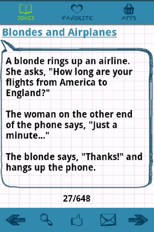 Hilarious Long Joke That Will Make You Cry : hilarious, Blonde, Jokes, Laughing