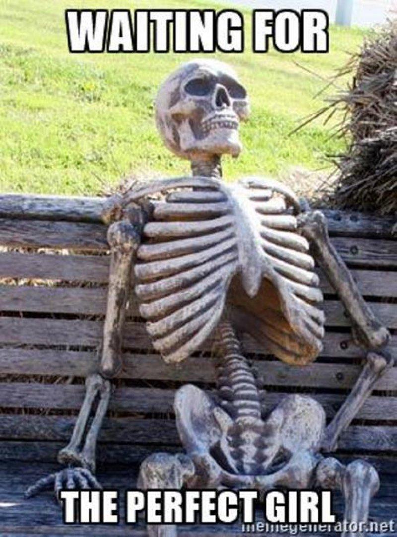 Queries Meme : queries, Funny, Waiting, Skeleton, Memes